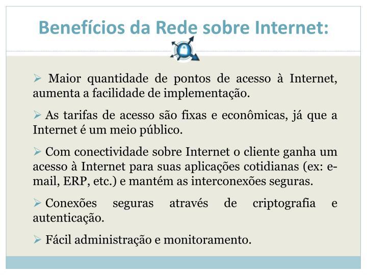 Benefícios da Rede