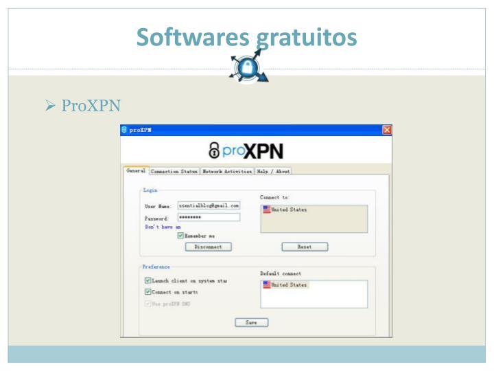 Softwares gratuitos