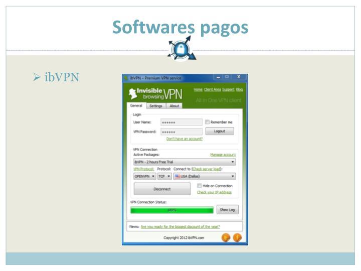 Softwares pagos