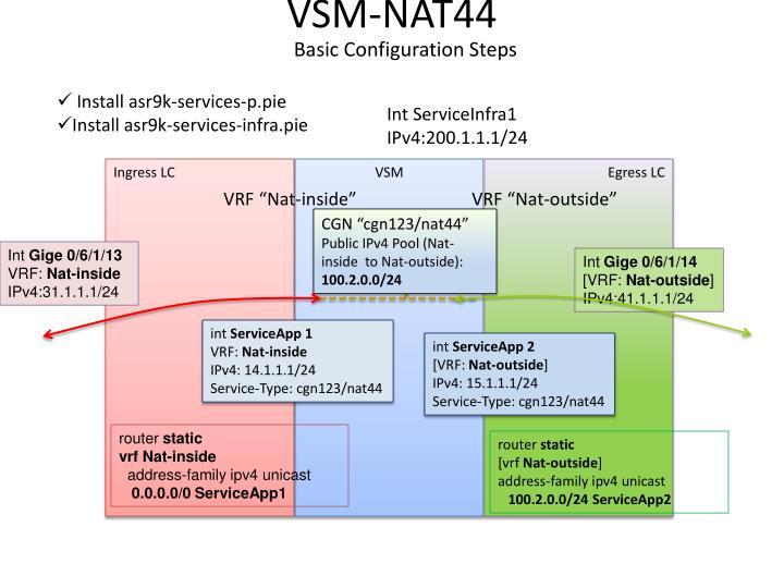 VSM-NAT44