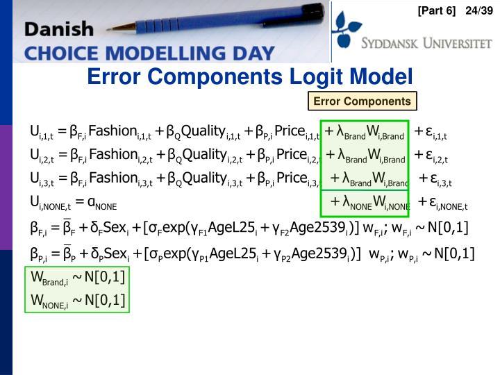 Error Components