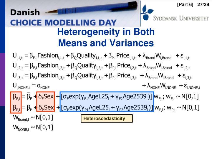 Heterogeneity in Both