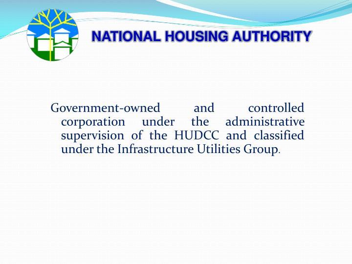 NATIONAL HOUSING AUTHORITY