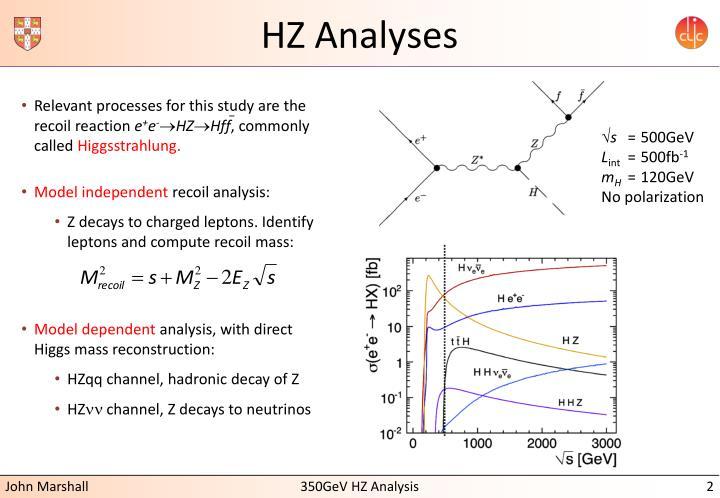 Hz analyses