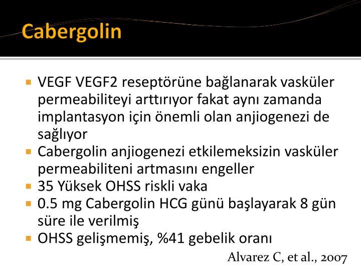 Cabergolin