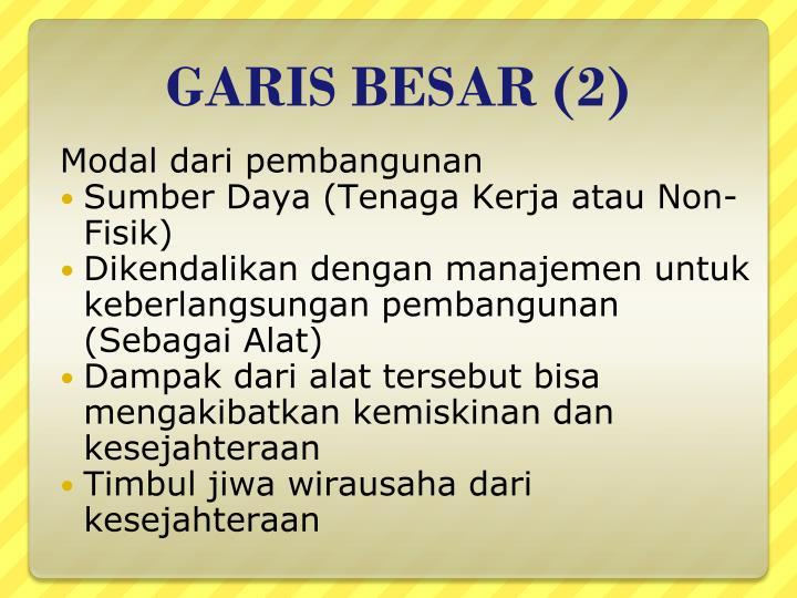 GARIS BESAR (2)