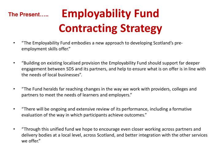 Employability Fund
