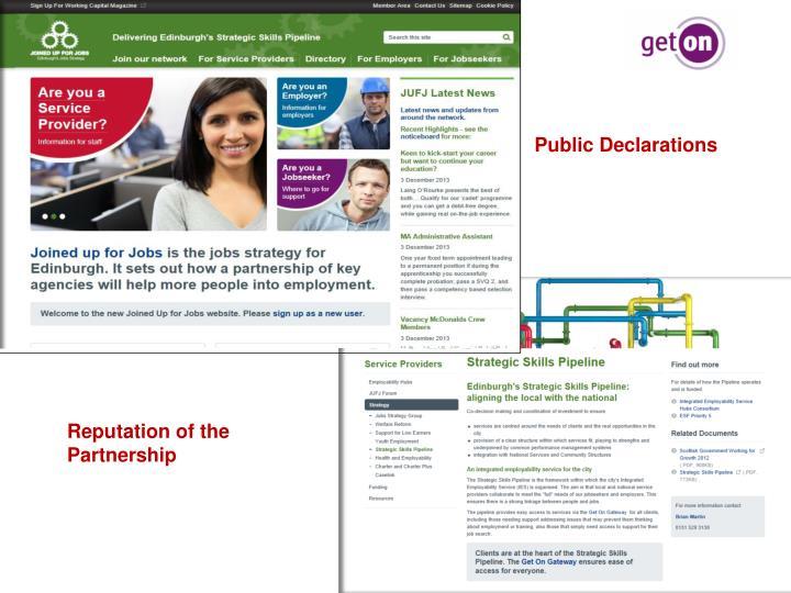 Public Declarations