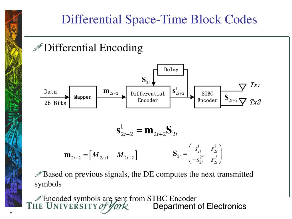 PPT - Differential Space-Time Coding for Future Wireless