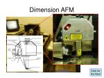 dimension afm