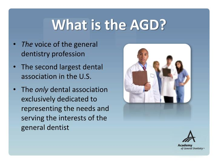 What is the AGD?