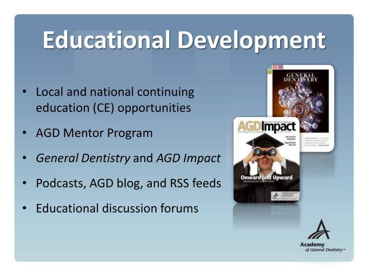 Educational Development