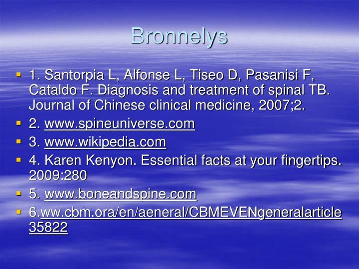 Bronnelys
