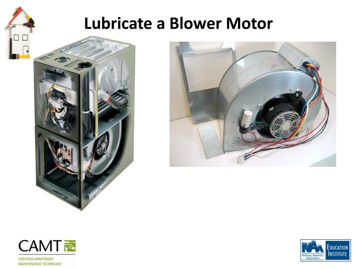 Ppt welcome to heating systems maintenance repair for Lubricate furnace blower motor