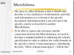 microschema
