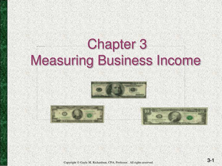 chapter 3 measuring business income n.