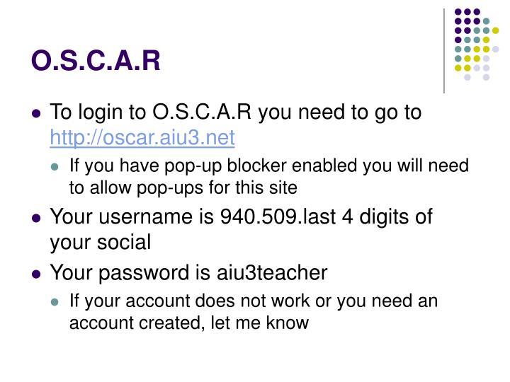O s c a r1