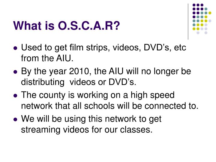 What is o s c a r