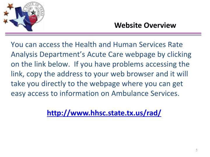 Website Overview