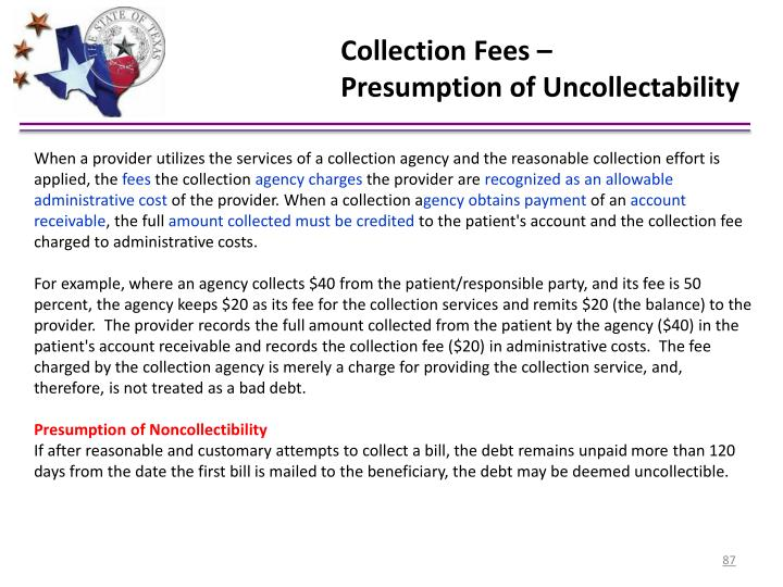 Collection Fees –