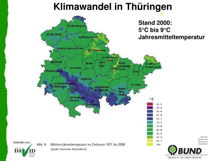 Klimawandel in Thüringen