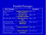 parallel passages1