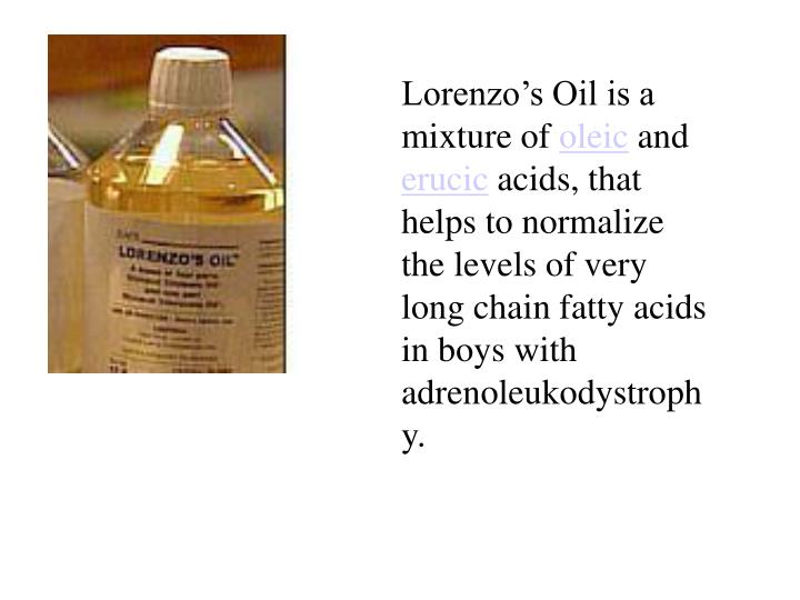 lorenzo s oil paper Free term papers & essays - lorenzos oil, miscellaneous the movie lorenzo's oil is about a boy, his family and their struggles to stick together through a life threatening disease.