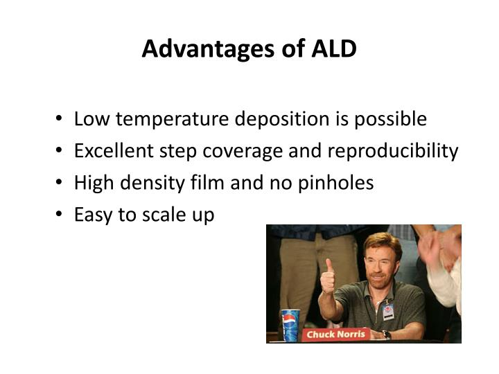 Ppt Atomic Layer Deposition Ald Powerpoint