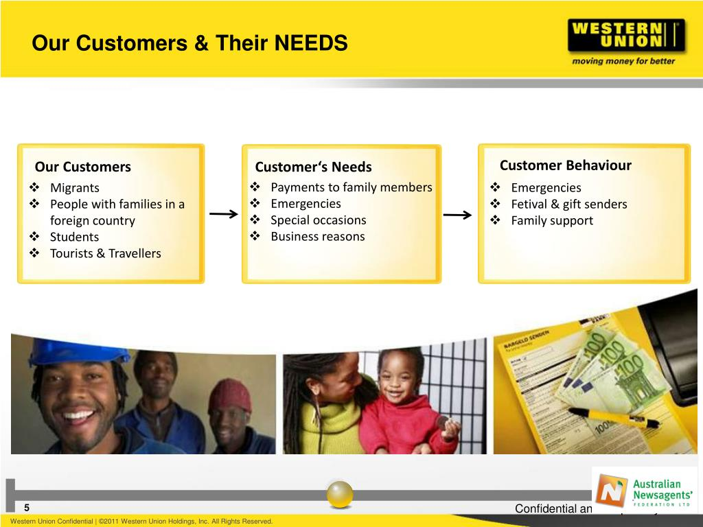 PPT - Western Union & ANF a Successful Partnership