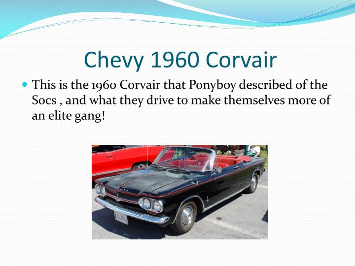 Chevy 1960 Corvair