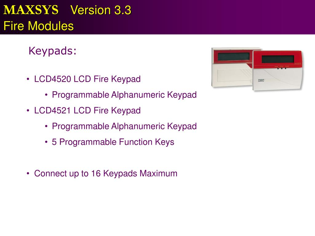 PPT - MAXSYS Version 3 3 PowerPoint Presentation - ID:3255371