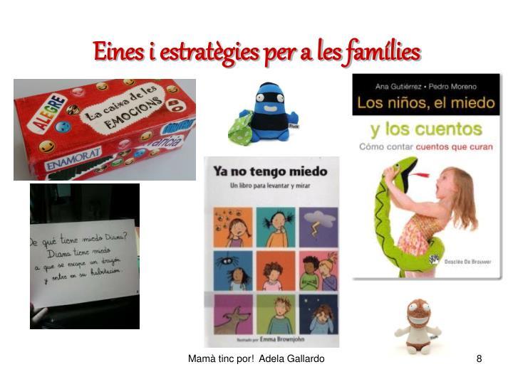 Eines i estratègies per a les famílies