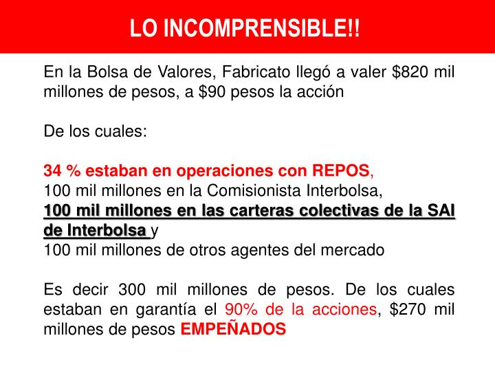 LO INCOMPRENSIBLE!!