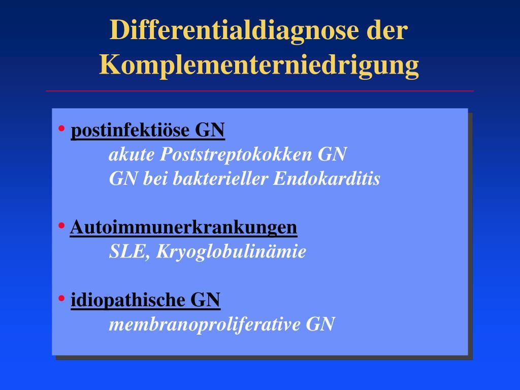 Immunkomplexnephritis