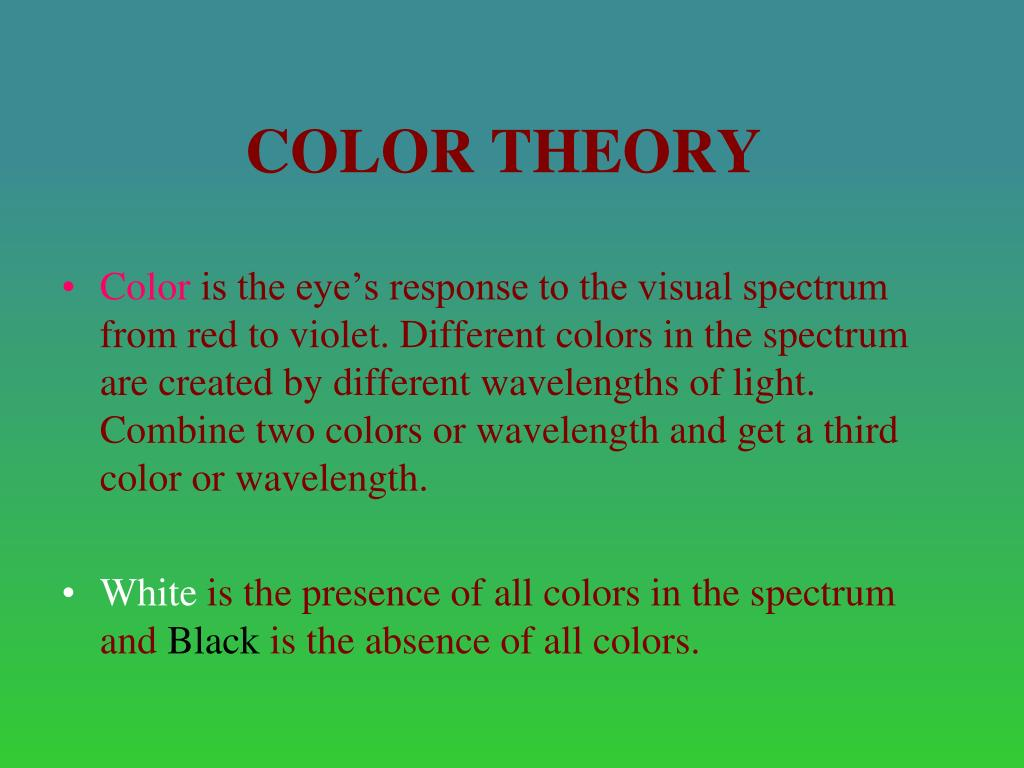 Color Theory N