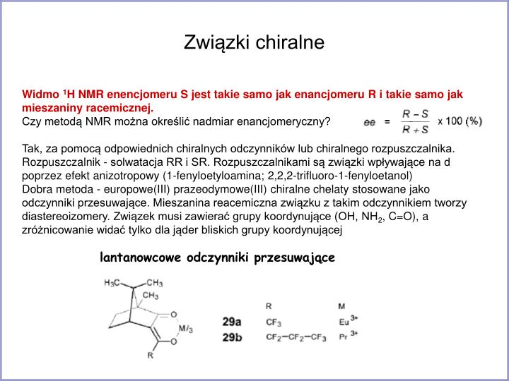 Związki chiralne