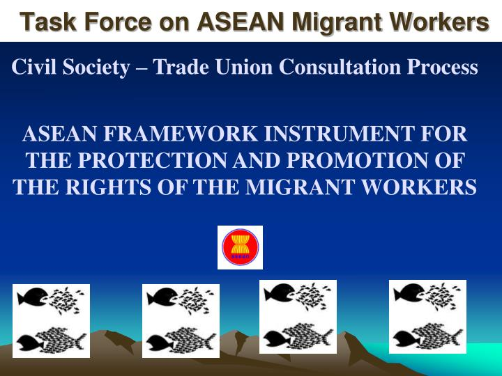 task force on asean migrant workers n.