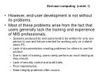 end user computing contd 1