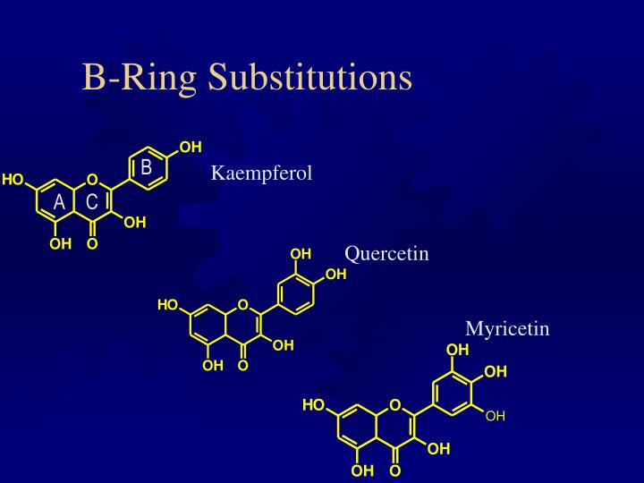 B-Ring Substitutions