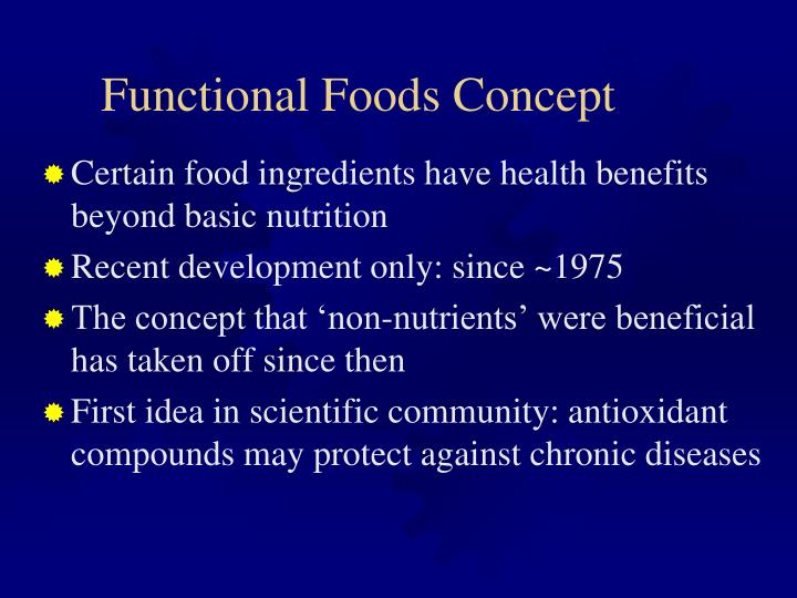 Functional Foods Concept