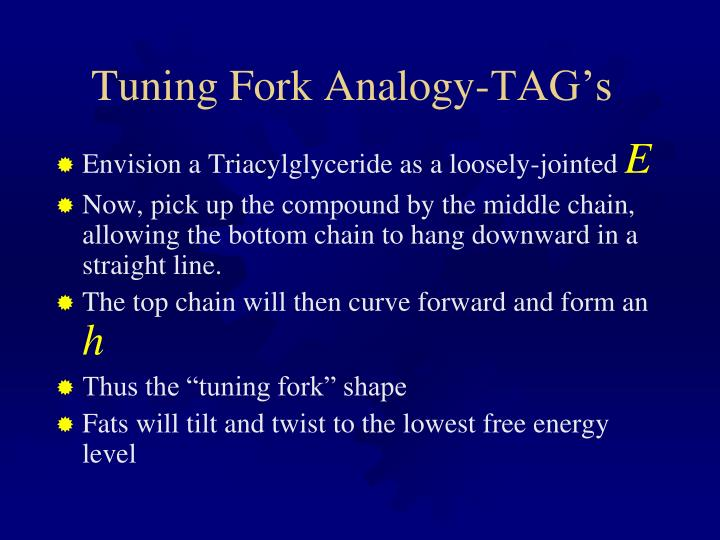 Tuning Fork Analogy-TAG's