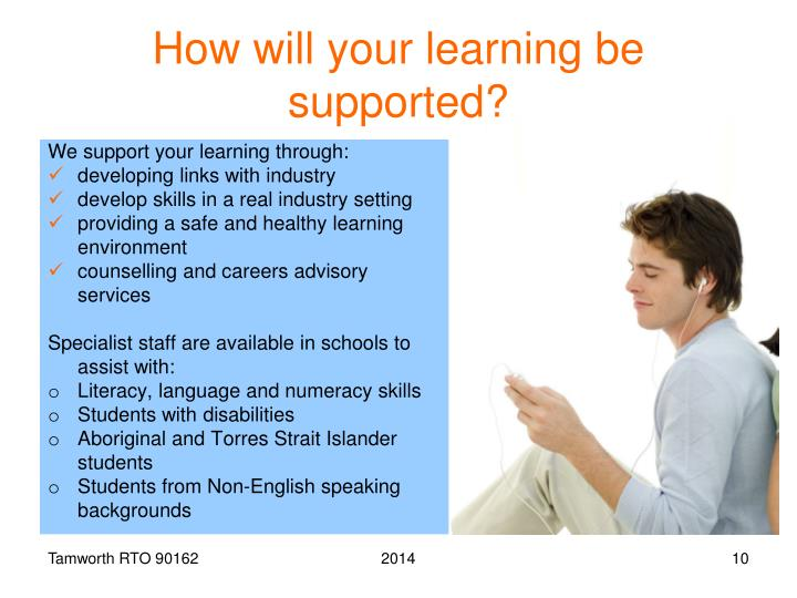 How will your learning be supported?