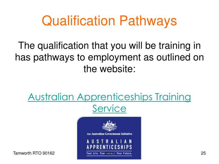 Qualification Pathways