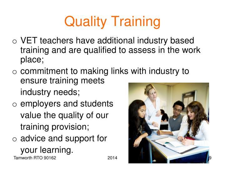 Quality Training