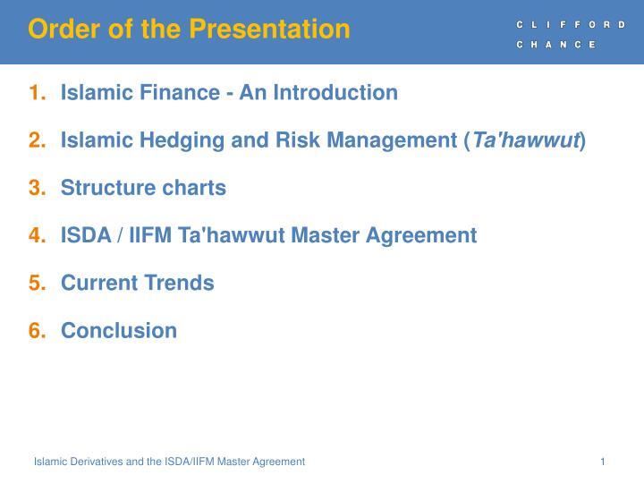 Ppt Islamic Finance And Derivatives Lse Islamic Finance Seminar