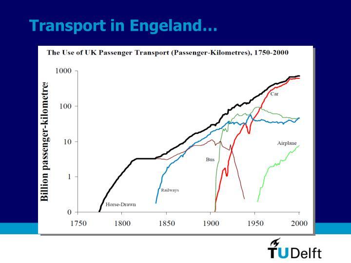 Transport in Engeland…