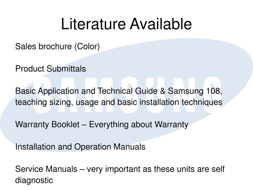PPT - Samsung Mini Splits PowerPoint Presentation - ID:3256549
