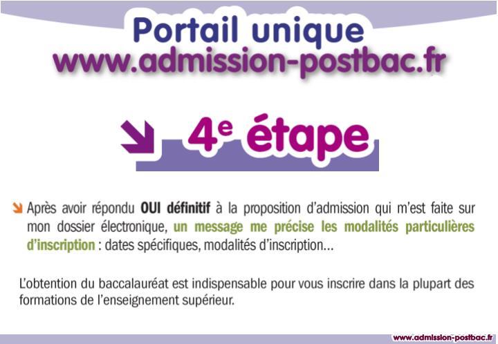 www.admission-postbac.fr