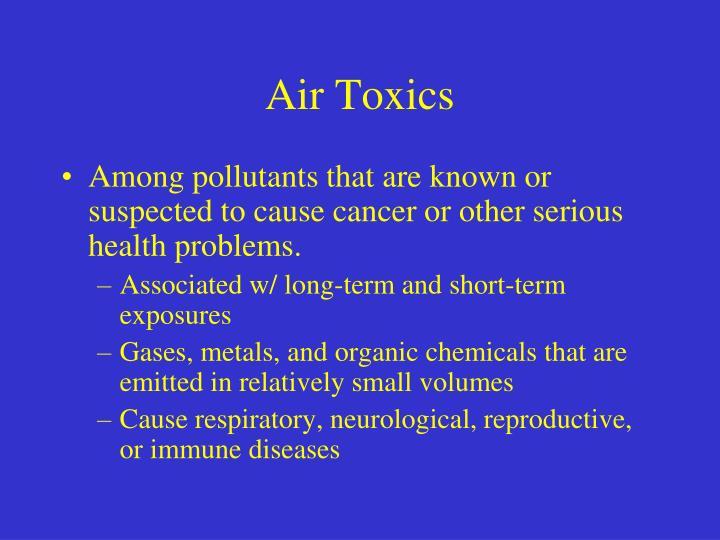 Air Toxics