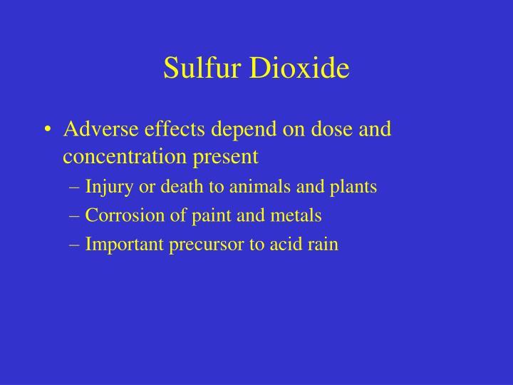 Sulfur Dioxide